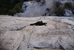 Rock Climbing Photo: Base route el cap Yosemite
