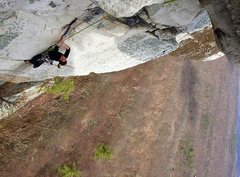 Rock Climbing Photo: Seconding CCK direct, Gunks