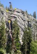 Rock Climbing Photo: Wu Wei Wall topo