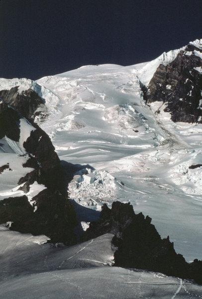 The Tahoma Glacier route