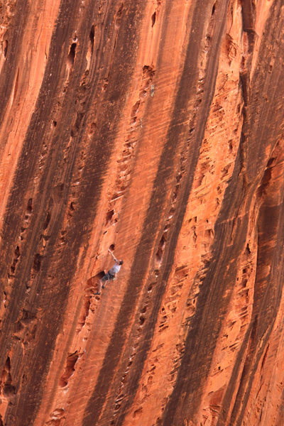 one of the best walls un Utah. the Namaste wall in kolob canyon, Zion