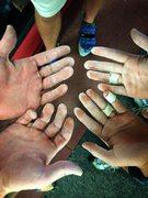 Rock Climbing Photo: Climbing Hands