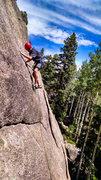 Rock Climbing Photo: New wall.