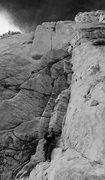 Rock Climbing Photo: Christopher Norwood & The Darwin Mega Splitter!!!