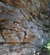 Rock Climbing Photo: Beautiful shot of Deep Creek sand stone.  If you z...