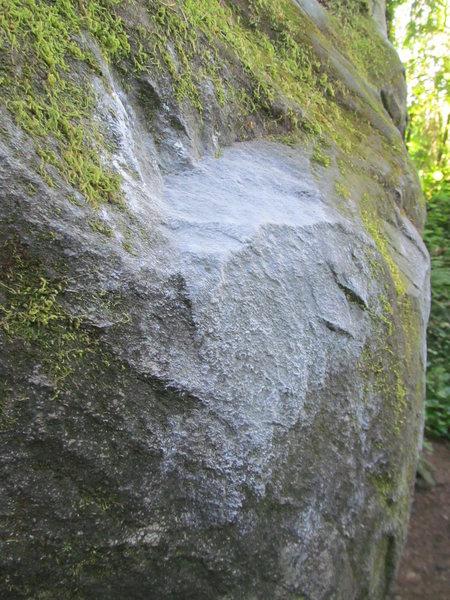Rock Climbing Photo: Sloper detail