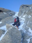 Rock Climbing Photo: chere couloir