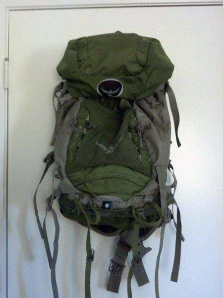 Rock Climbing Photo: Osprey Kestrel 48ltr