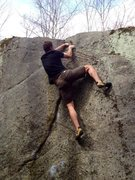 Rock Climbing Photo: Thrust Fault, Mackenzie Pond, ADK.