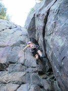 Rock Climbing Photo: Angela