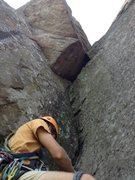 Rock Climbing Photo: Great Dihedral, Poke-O, ADK.