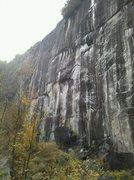 Rock Climbing Photo: King Wall, ADK, NY.