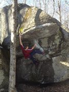 Rock Climbing Photo: China Roof, Mackenzie Pond, ADK.