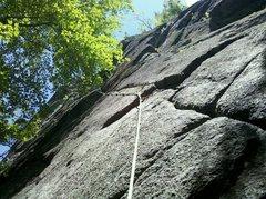 Rock Climbing Photo: Rockaholic, Beer Walls, ADK.