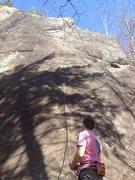 Rock Climbing Photo: Raw Tips, Spanky's, ADK.