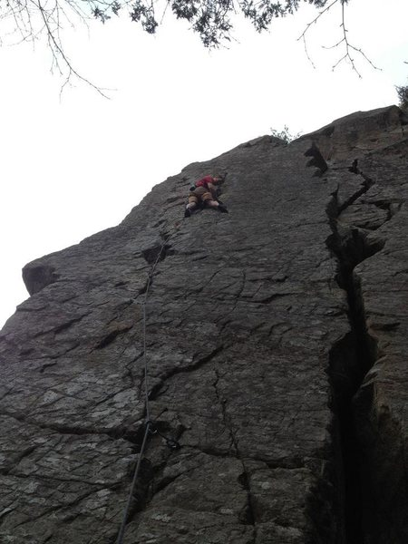Rock Climbing Photo: Bozeman Bullet, Deadwater, ADK.