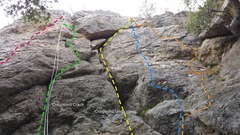 Rock Climbing Photo: Northeast face