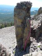 Rock Climbing Photo: Prime Eight Topo