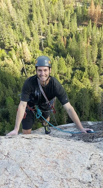 Rock Climbing Photo: ran into Casey Flowe on the Nutcracker in Yosemite...