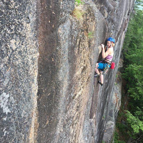 Rock Climbing Photo: Found a great kneebar on Layton's!