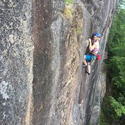 Rock Climbing Photo: Found a great kneebar on Layton's!