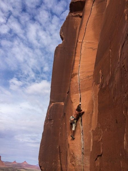 Rock Climbing Photo: Classic splitters