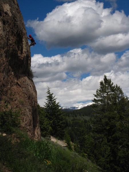 Rock Climbing Photo: 'sierra like' ... Ten Sleep