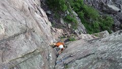 Rock Climbing Photo: Blue Bells 5.8