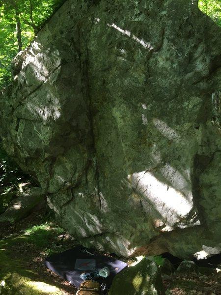 The brussel boulder