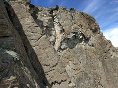 """Rock Climbing Photo: I believe this is a view of """"Kante"""" 5a, ..."""