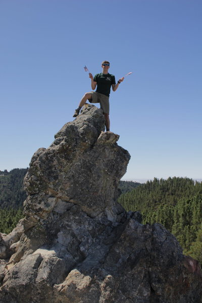 Rock Climbing Photo: Happy 4th from Buzzards Roost!!