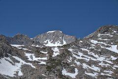 Rock Climbing Photo: Mount Abbot from Ruby Lake.