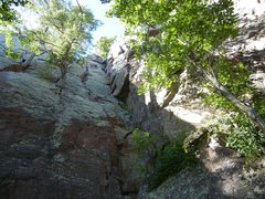 Rock Climbing Photo: Nice family friendly route.