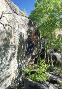 Rock Climbing Photo: Fun knobs. Photo by Skywalker
