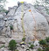 Rock Climbing Photo: Boob lube and Diamonds and Rain