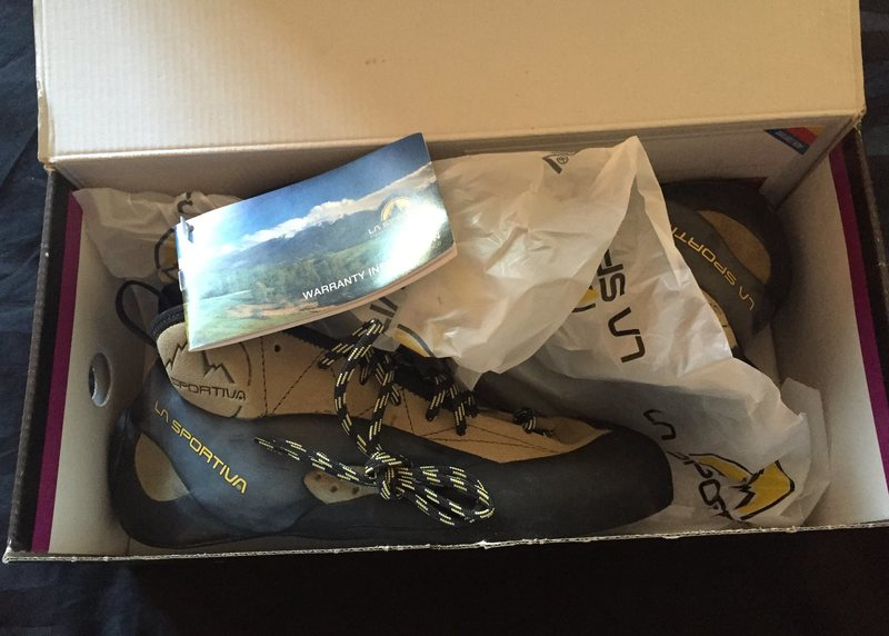 Rock Climbing Photo: New in box