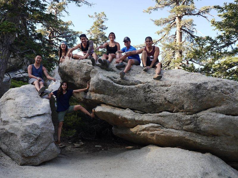Rock Climbing Photo: Hangar 18 crew
