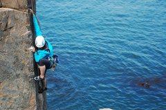 Rock Climbing Photo: Viv on Gallery Arete