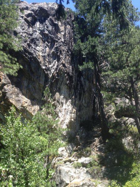 Rock Climbing Photo: bword