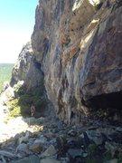 Rock Climbing Photo: larry land