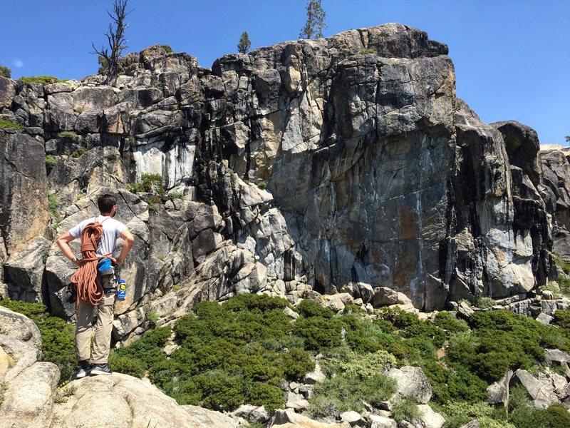 Rock Climbing Photo: star wall