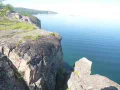 Rock Climbing Photo: Another shot of The Great Bird Chimney from the to...