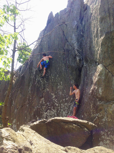 Rock Climbing Photo: Not sure what the exact line is here but it was fu...