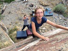 Rock Climbing Photo: Climbing in the quarry