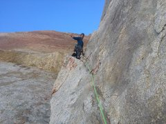 Rock Climbing Photo: Sunspot Dihedral (HULK)