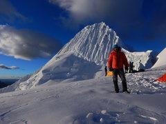 Rock Climbing Photo: Alpamayo