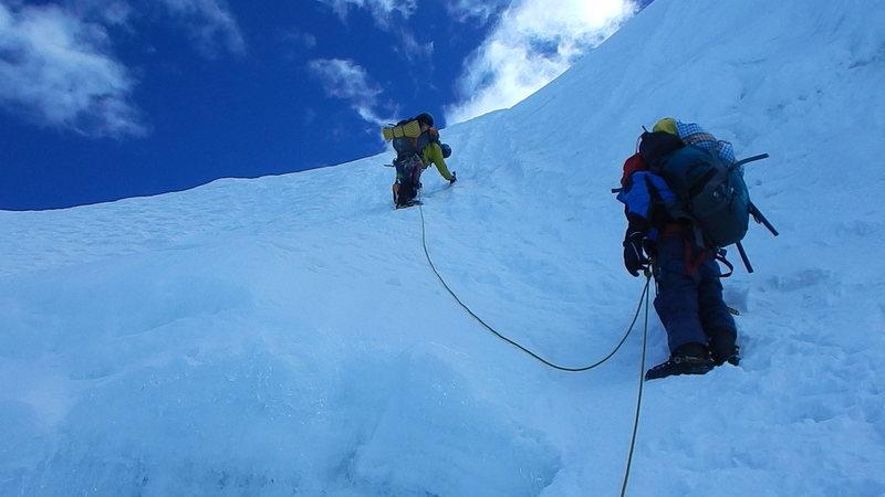 Alpamayo glacier approach lulzy