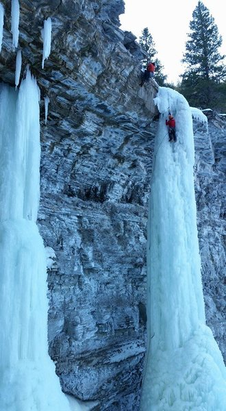 Rock Climbing Photo: beehive ice