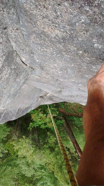 Climbers view