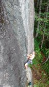 Rock Climbing Photo: Opening sequence, weaving his spell